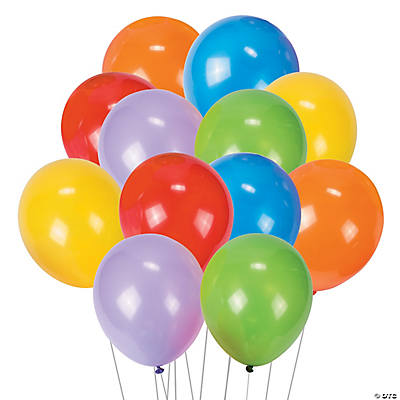 Round Latex Balloons - 9""
