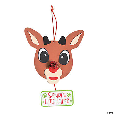 Rudolph the Red-Nosed Reindeer ® Sign Craft Kit