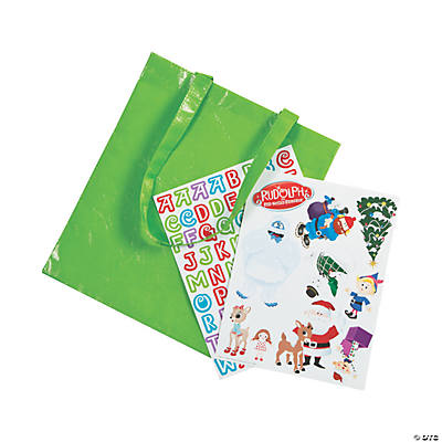 Rudolph the Red-Nosed Reindeer<sup>®</sup> Laminated Tote Bag Craft Kit