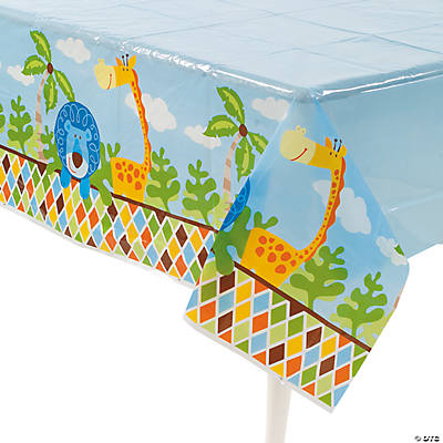 Safari Boy Tablecloth