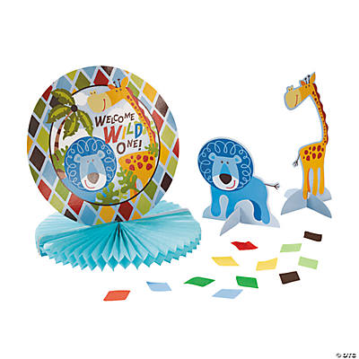 Safari Boy Tabletop Décor Kit