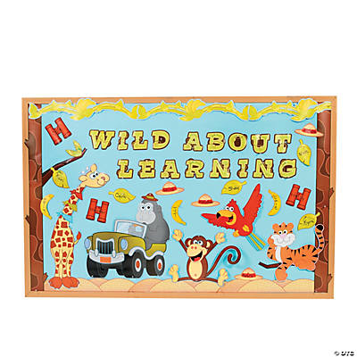 safari bulletin board set bulletin boards