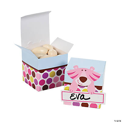 Safari Girl Favor Boxes