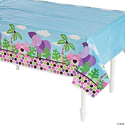 Safari Girl Tablecloth