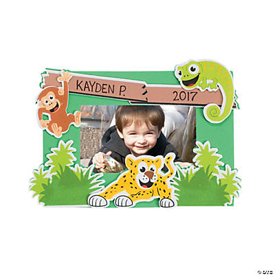 Safari Picture Frame Magnet Craft Kit