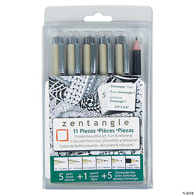 Sakura Zentangle Drawing Set of 11