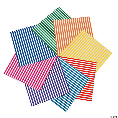 Sassy Stripes Paper - Brights