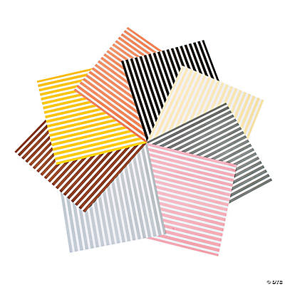 Sassy Stripes Paper - Neutrals
