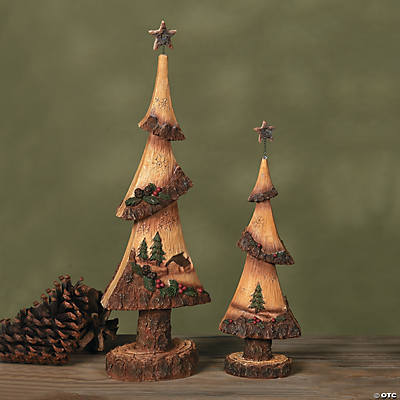 Scenic Christmas Tree Set