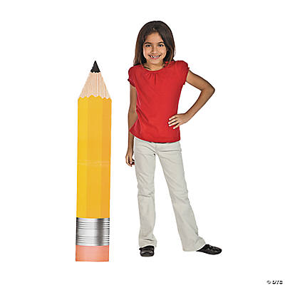 School Days Pencil Stand-Up