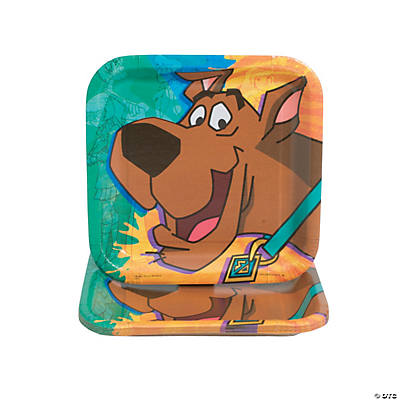 Scooby-Doo!™ Mystery Square Dessert Plates