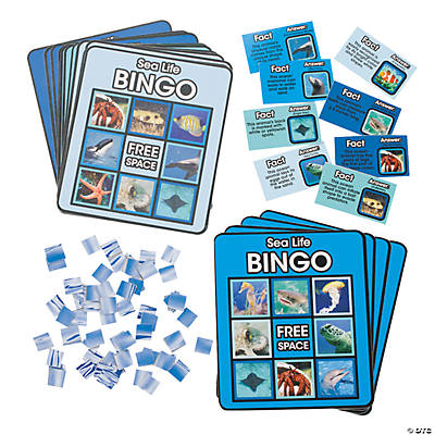 Sea Life Bingo Game