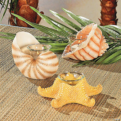 Seashell Votive Holders