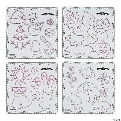 Seasonal Punch & Stitch Sheets