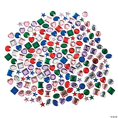 Self-Adhesive Jewel Assortment