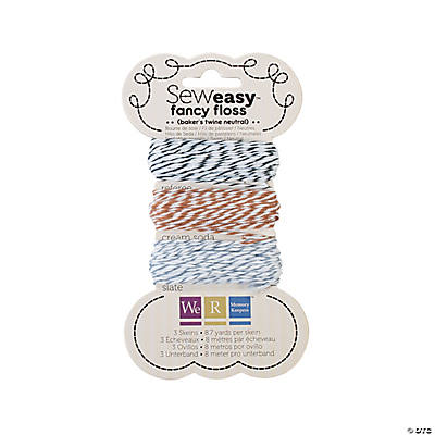 Sew Easy™ Fancy Floss Baker's Twine - Neutral