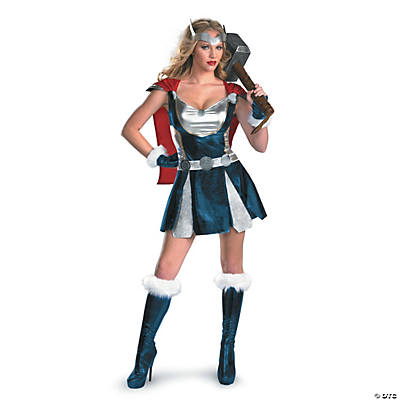 Sexy Thor Girl Costume for Women