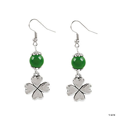 Shamrock Earrings Craft Kit