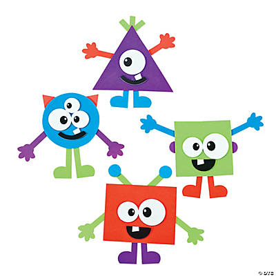 Shape Monsters Craft Kit