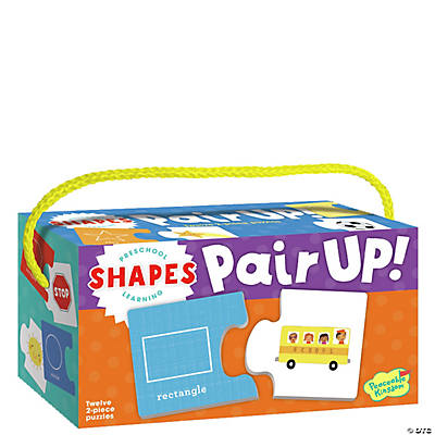 Shapes Pair-Up Puzzles