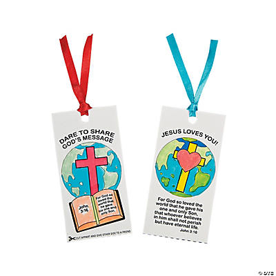"""Share God's Message"" Double Bookmarks"