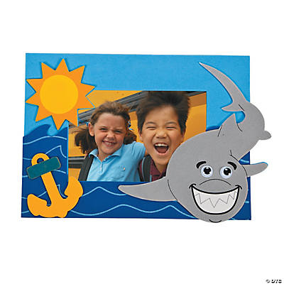Shark Picture Frame Magnet Craft Kit