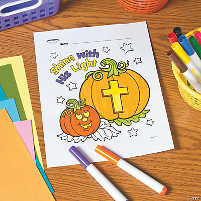 shine with his light free printable coloring page