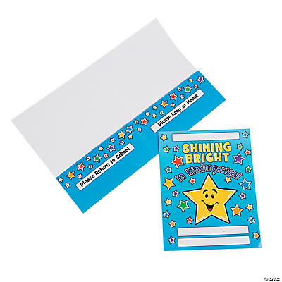 Shining Bright in Kindergarten! Pocket Folders