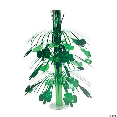 Shiny St. Patrick's Day Shamrock Tabletop Fountain