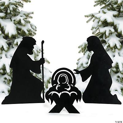 Outdoor Christmas Decorations Nativity Scene