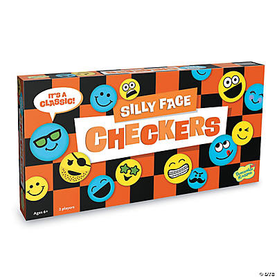 Silly Face Checkers