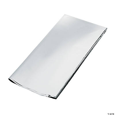 Silver Metallic Gift Wrap Sheets