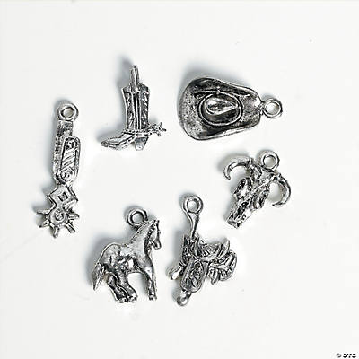 Silvertone Western Charms