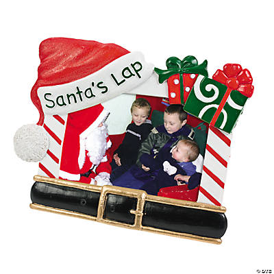 "Sitting on ""Santa's Lap"" Frame"