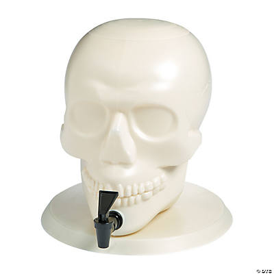 Skull-Shaped Drink Dispenser