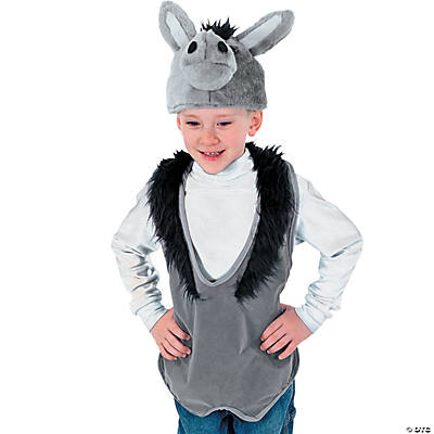 Slip-On Donkey Vest And Hat
