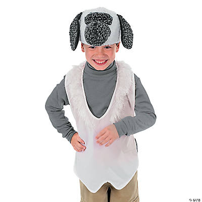 Slip-On Lamb Apron And Hat