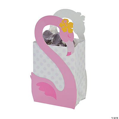 Small Flamingo Gift Bags