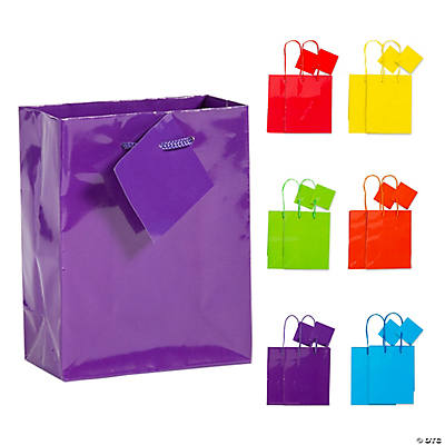 Neon gift bags small neon gift bags negle Image collections
