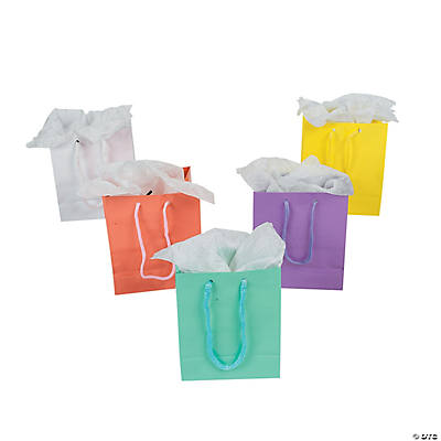 Small Pastel Gift Bags