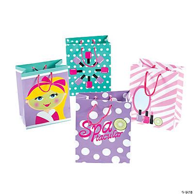 Small Spa Party Gift Bags