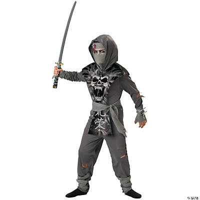 Small Zombie Ninja Boy's Costume