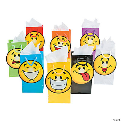 Smiley Face Treat Bags
