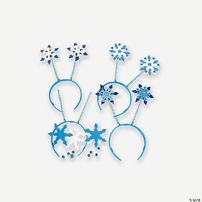 Snowflake Head Boppers Headband Craft Kit