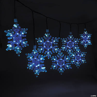 Snowflake String Lights - Oriental Trading