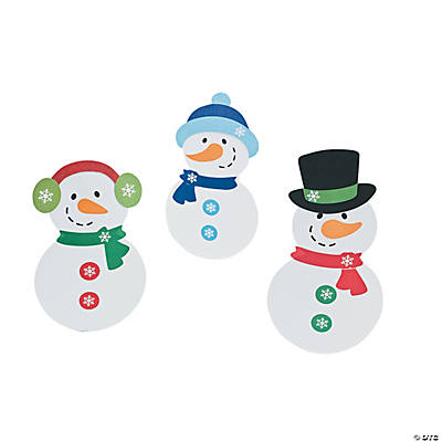 Snowman Craft Roll Craft Kit