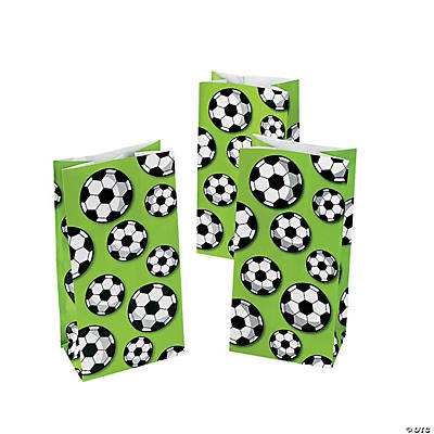 Soccer Ball Treat Bags
