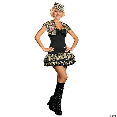 Soldier Girl Costume For Women