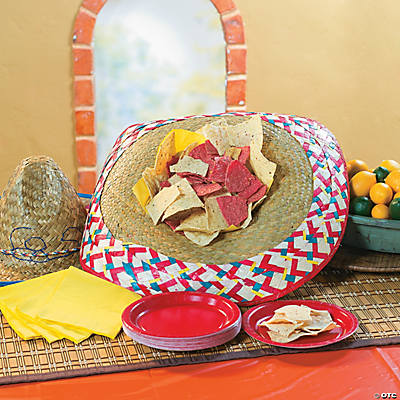 Sombrero Chip Bowl Idea