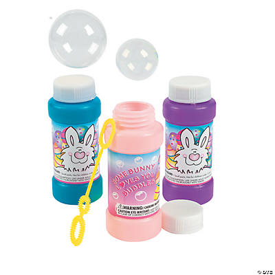 """Some Bunny Loves You"" Bubble Bottles"